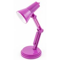 Фиолетовый светильник для чтения книг