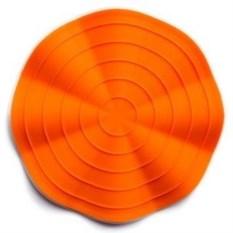 Оранжевая прихватка и подставка для горячей посуды Волна