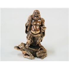 Статуэтка Хотей на денежной лягушке
