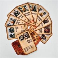Карты Мафия пиратская