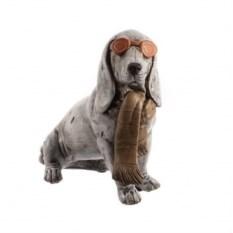 Декоративная фигурка Собака в шарфе и очках