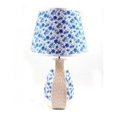 Настольный светильник Прованс - васильки
