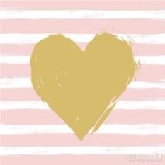 Бумажные салфетки Heart&Stripes