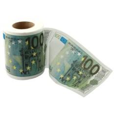 Мини рулон туалетной бумаги 100 евро
