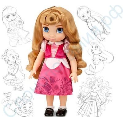 Кукла Аврора в детстве, Дисней, 40 см