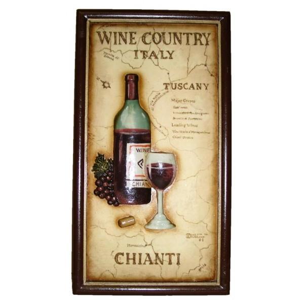 Панно барное Страна вина Кьянти
