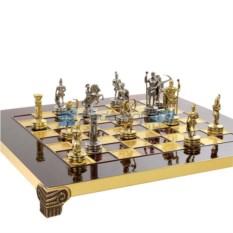 Шахматы с фигурками из металла Античные войны