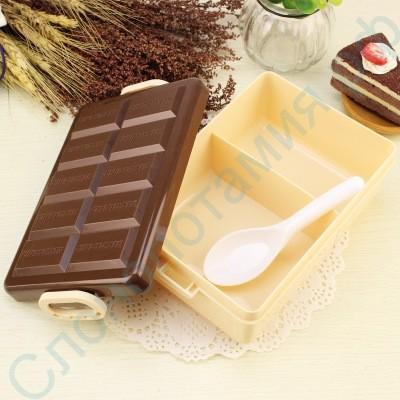 Контейнер для еды Шоколадный ланчбокс