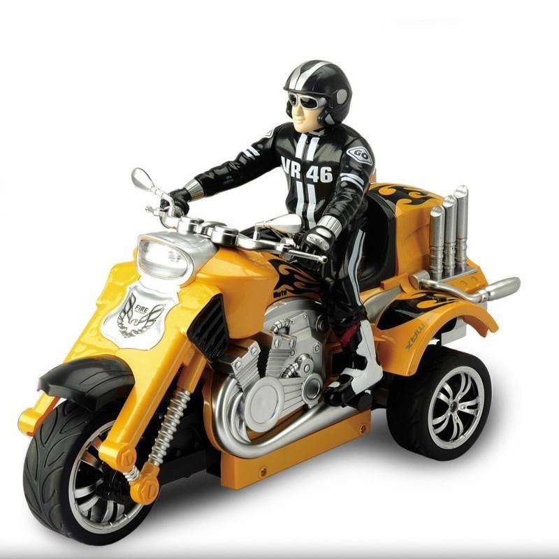 Радиоуправляемый мотоцикл Yuan Di Трицикл 1:10 YD898-T58