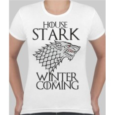Женская футболка House stark