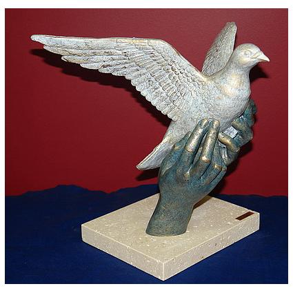 Скульптура «Аллегория миру»
