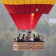 Полёт на воздушном шаре для троих