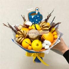 Букет из фруктов Антипростудный