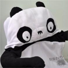 Чехол на автокресло Удивленная панда (флис)