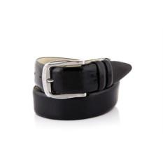 Черный мужской кожаный ремень тип 944774