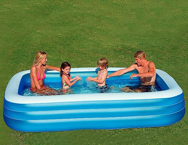 Надувной бассейн INTEX Голубой