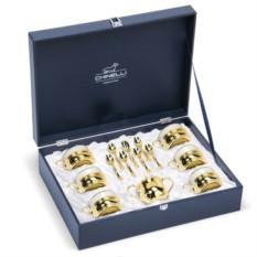 Чайный сервиз Элегантная классика, золото, на 6 персон