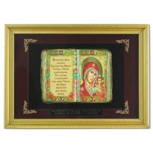 Православное панно Владимирская Богородица