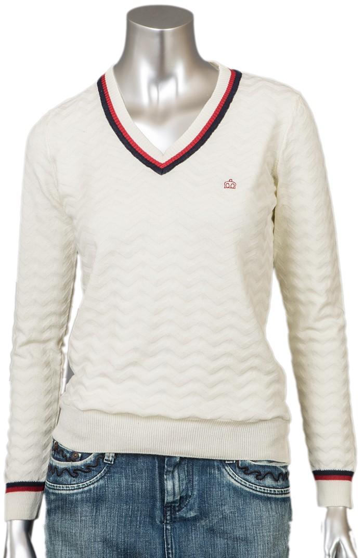 Merc Rossi Пуловер женский белый