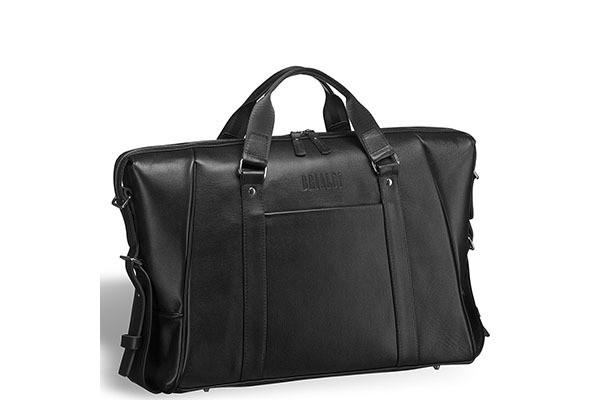 Черная деловая сумка для архитекторов Valvasone