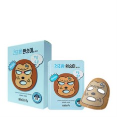 Тканевая маска для лица для сухой кожи Monkey