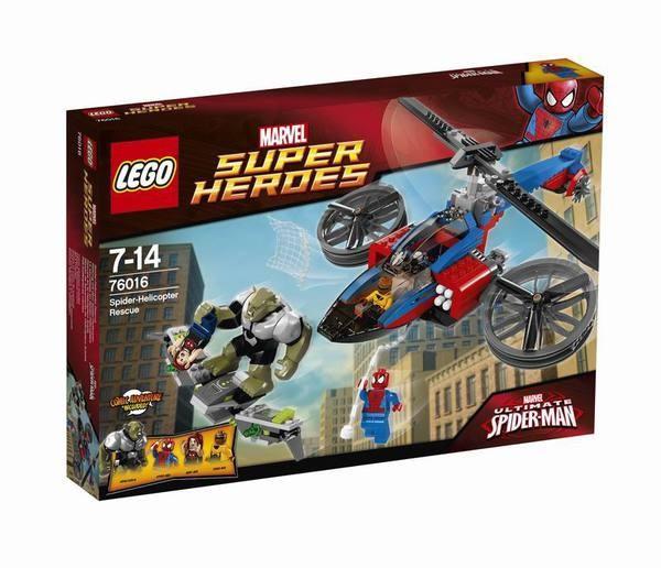 Конструктор LEGO SUPER HEROES Спасательная операция