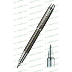 Перьевая ручка Parker I.M. Premium Gun Metal Chiselled