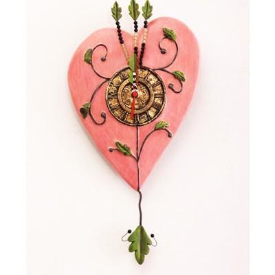 Часы настенные «Сердце»