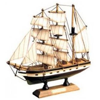 Модель парусного фрегата XVIII века