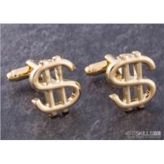 Запонки «Доллар»