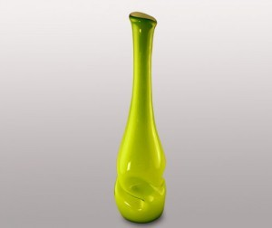Цветочная ваза из стекла