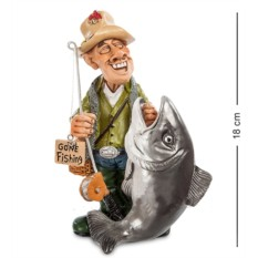 Статуэтка Рыбак
