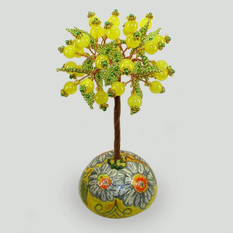 Дерево из опала Цветочный рай