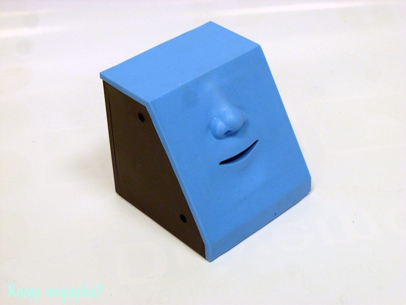 Интерактивная копилка «Обжора», нос, синий