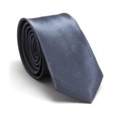 Узкий галстук (серый)