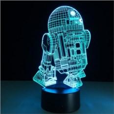 3D-светильник Дрон R2-D2