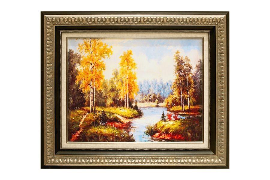 Картина Долина реки