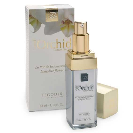 Крем-гель для лица Tegoder Gold Orchid Cotton Nectar (35 ml)