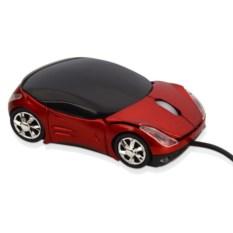 Оптическая мышь в форме автомобиля с подсветкой фар