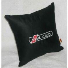 Черная подушка Audi A4 club