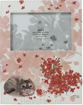 Фоторамка с изображением кошечки «Любовь»