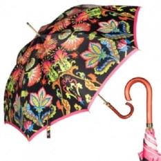 Женский черный зонт-трость Калейдоскоп от Baldinini
