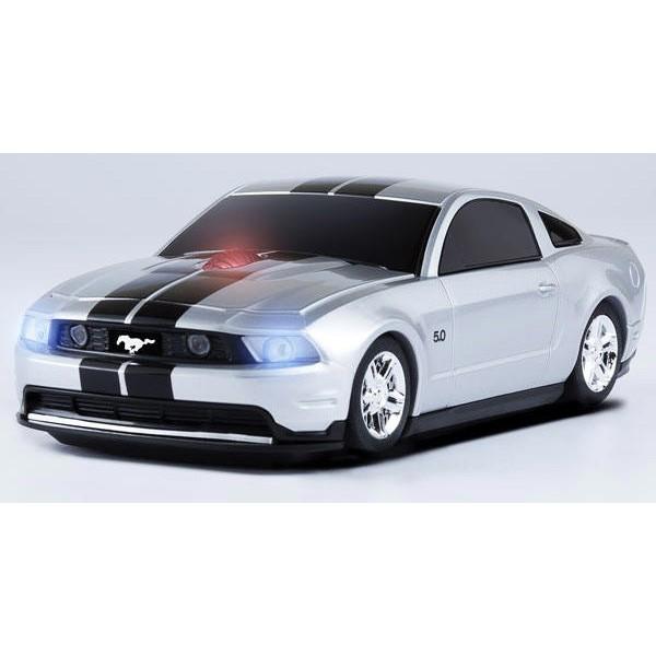 Компьютерная мышка Ford Mustang Silver HP