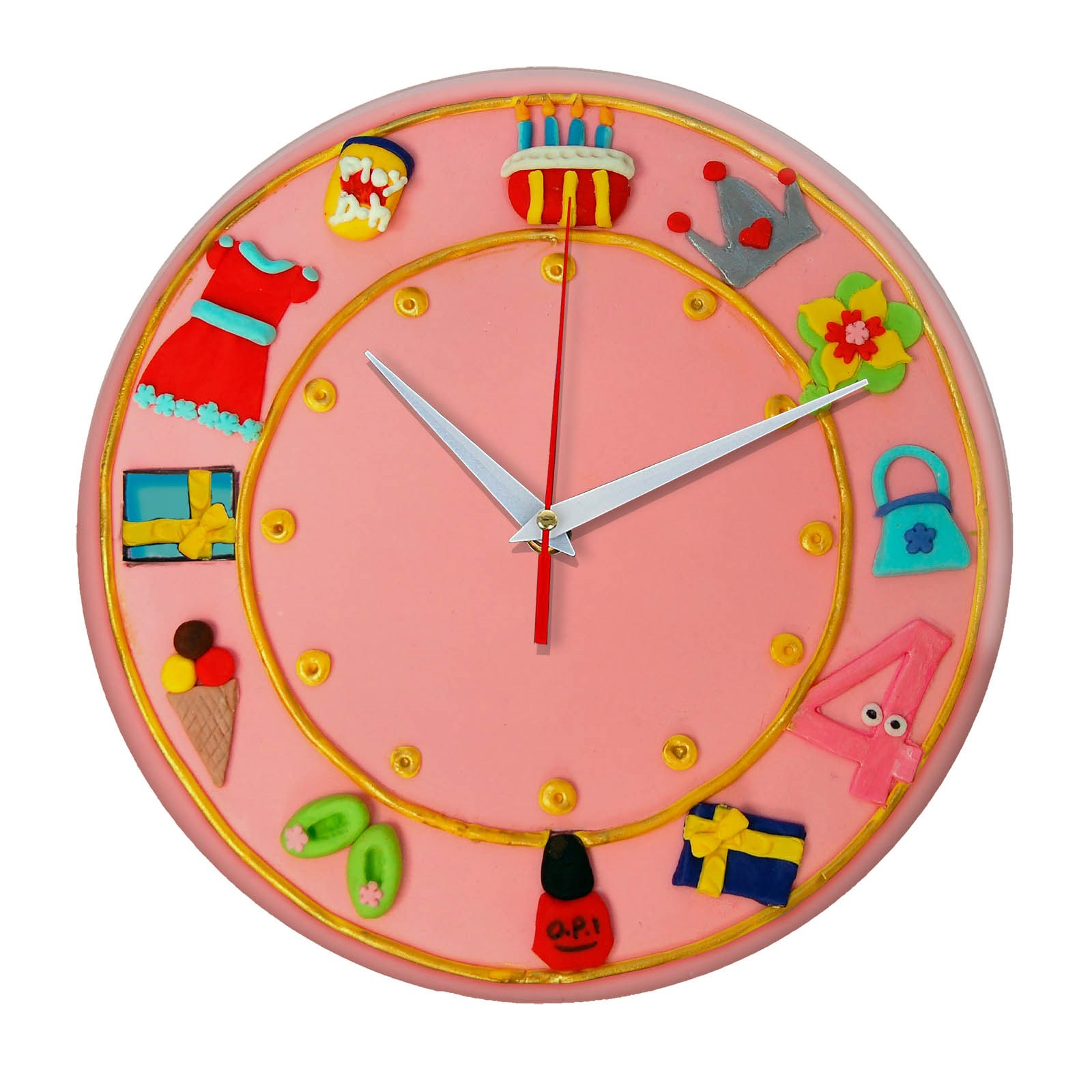 Настенные часы Торт