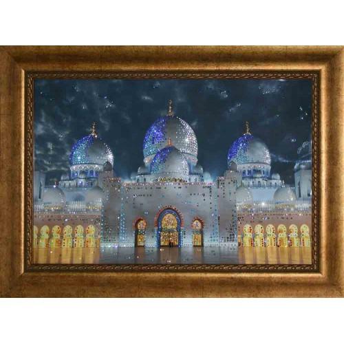 Картина Swarovski Мечеть-дворец