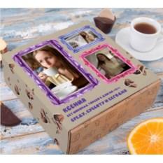 Набор шоколадных мелочей Шоколад только в дни на С