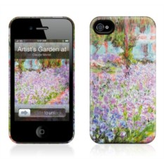 Чехол для iPhone 4,4S Gelaskins Artist's Garden at Giverny