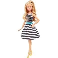 Кукла Барби Модница. Чёрно-белые полоски от Mattel