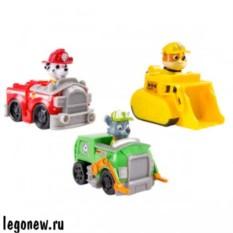 Набор из 3 маленьких машинок (Paw Patrol)