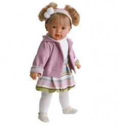 Кукла Лула в сиреневом